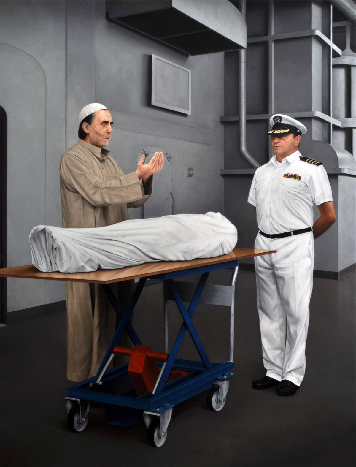 Bin laden buried at sea pictures